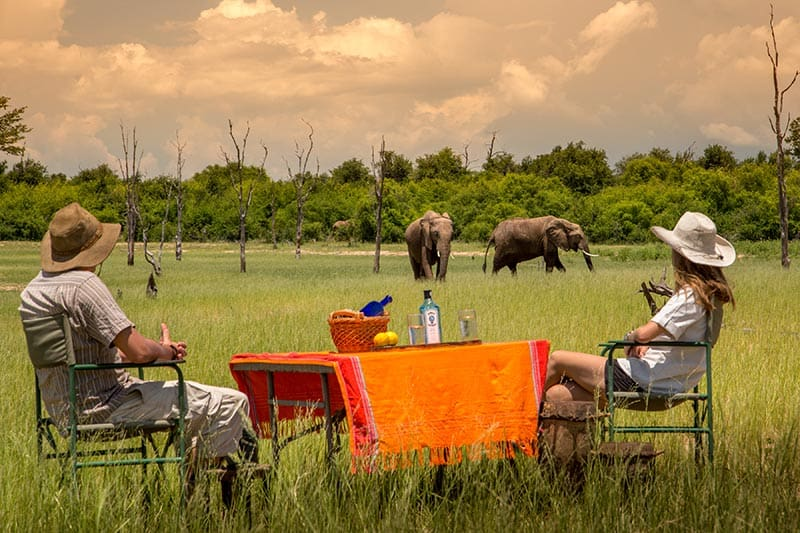 rhino-safari-camp-sundowners-on-kariba-shoreline