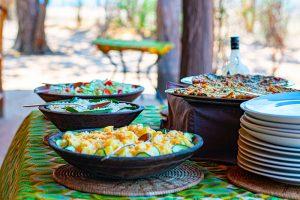 rhino-safari-camp-lunch